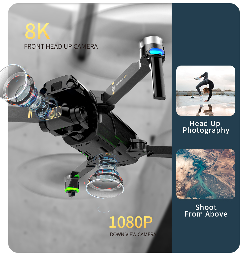 Hae78a006fc2c40f29ae45c25c2f80774F - KAI ONE MAX GPS Obstacle Avoidance Drone Professional 4K/8K HD Dual Camera 3 Axis Gimbal Brushless RC Foldable Quadcopter Gifts