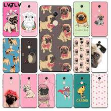 Lvtlv Pug Franse Bulldog Custom Photo Soft Telefoon Case Voor Redmi Note 9 4 5 6 7 5a 8 8pro xiaomi Mi Mix2s Case(China)