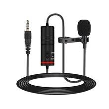 Петличный микрофон с отворотом конденсаторный микрофон всенаправленный Шумоподавление для камеры и телефона