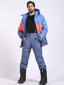 SAENSHING Trousers Snowboard-Pants Ski-Pantalones Winter Womem Skiing Outdoor Men Thicken