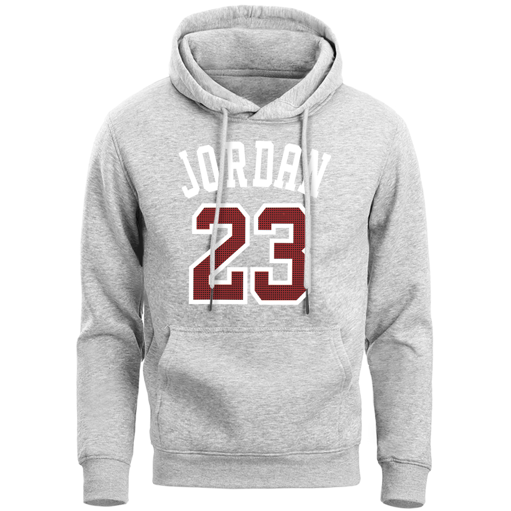 Jordan 23 Basketball Brand Hoodies Men Sports Sweatshirt 2019 Spring Autumn Casual Hooded Fleece Black Dark Gray Sportswear