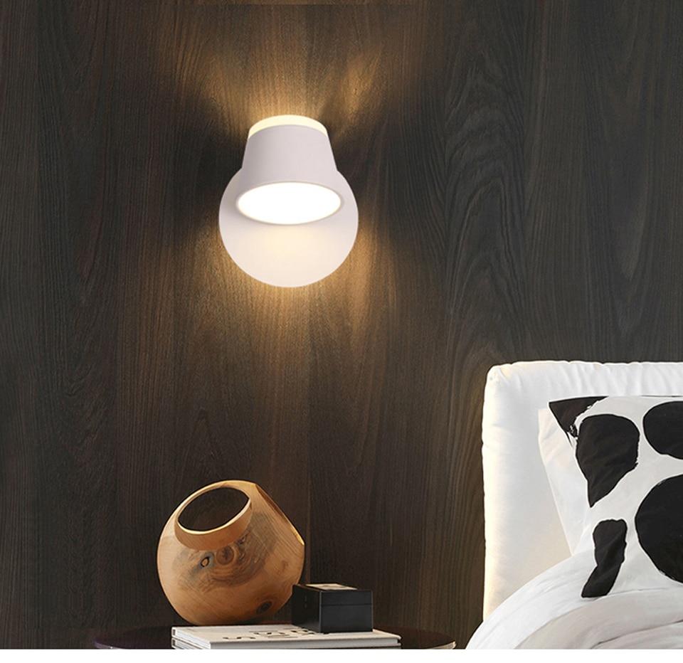 Led lâmpada de parede para o quarto