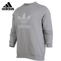 Original Adidas TREFOIL CREW Mens Long Sleeves T shirt Polyester Sweatshirt CY4573