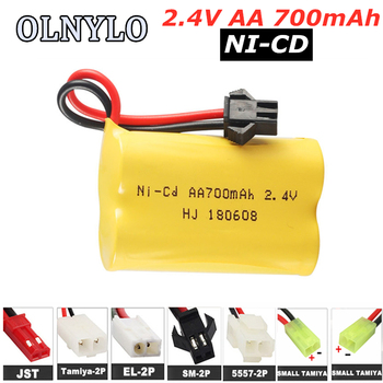 AA 2.4V 700mAh NI-CD rechargeable battery pack AA 2.4 v rechargeable battery 700 mah for Remote Control toys Electric Toys image