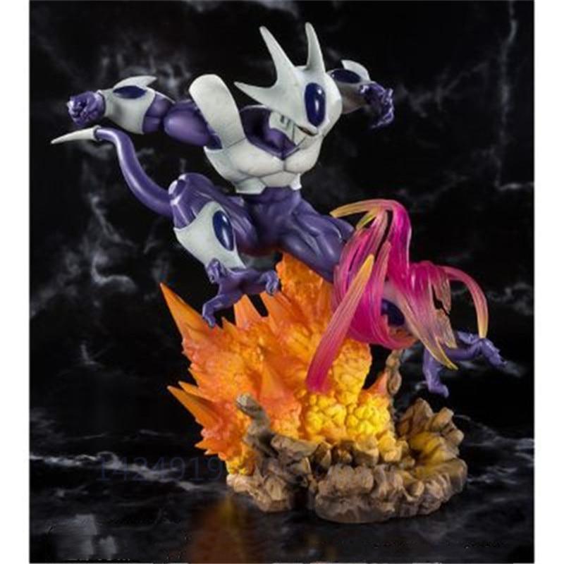 Dragon Ball Super Saiyan fils Goku or FRIEZA frère refroidisseur cohéa univers patron érection majeur PVC Action modèle jouet G414