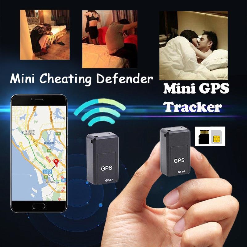 Mini GPS Tracker Hide Magnético Em Tempo Real Anti-cheat GPS Localizador Anti-Roubo Rastreador GPS do dispositivo Anti-Lost dispositivo de rastreamento Anti-adultério