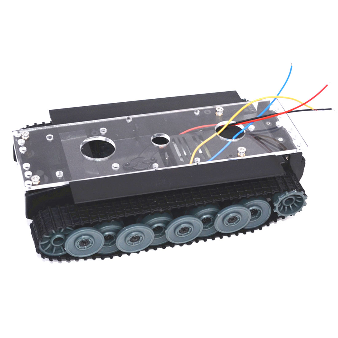 1:32 Tank Track Chassis Robot Chassis Smart Car Chassis For Arduino
