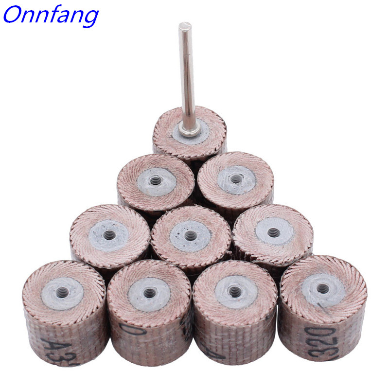 80 120 180 240 320 400 600 Grit Flap Wheel Sander Sanding Disc Replacement Abrasive Grinder Rotary Tools