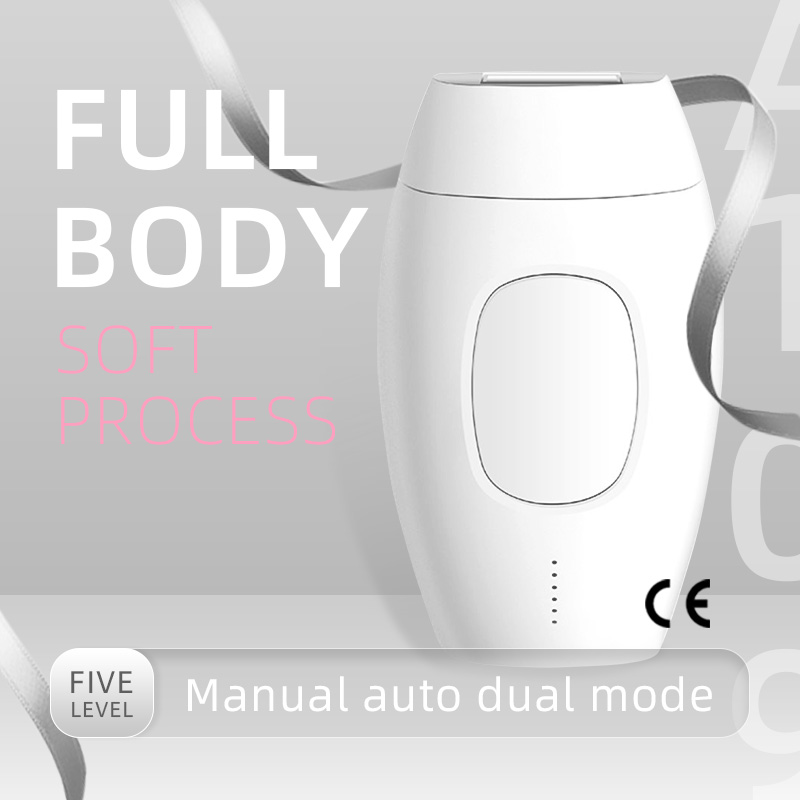 CE Certification (US Plug) Laser Hair Remover Household Full Body Photonic Armpit Privates Beauty Salon Hair Removal 0.6 Million