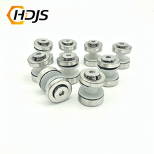 цена на 304 stainless steel double head screw M8 hexagonal glass screw stair handrail column clamping bolt