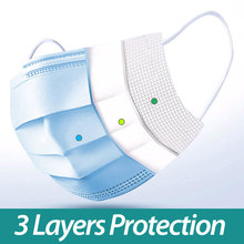 100pcs 3-Ply Disposable Mask melt-blown non-woven fabric prevent droplet transmission Mouth Soft Breathable Face Mask