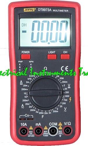 100% Оригинальный Высокоточный мультиметр SZBJ DT9973A DT9975/VC97, мультиметр True RMS, Автоматический диапазон