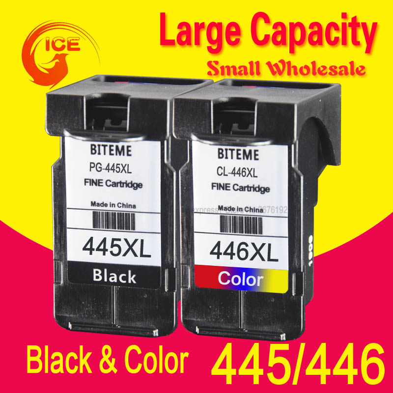 Cartridge-Ink Pg 445 PG445XL 2540S Mg 2440 Canon Compatible for MX494 2540/2940/2540s/Pg445 title=