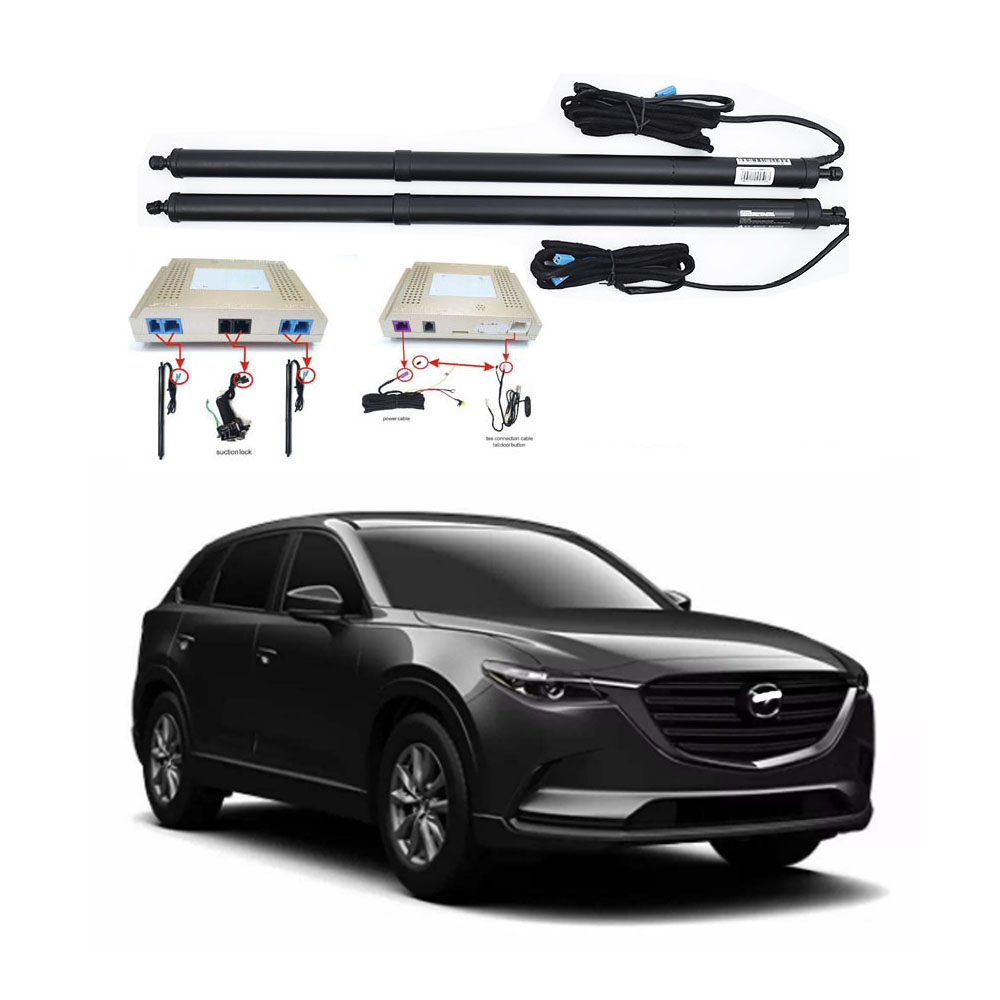 New Electric Tailgate Refitted For MAZDA CX-9 2017 -2020 Tail Box Intelligent Electric Tail Door Power Tailgate Lift Lock