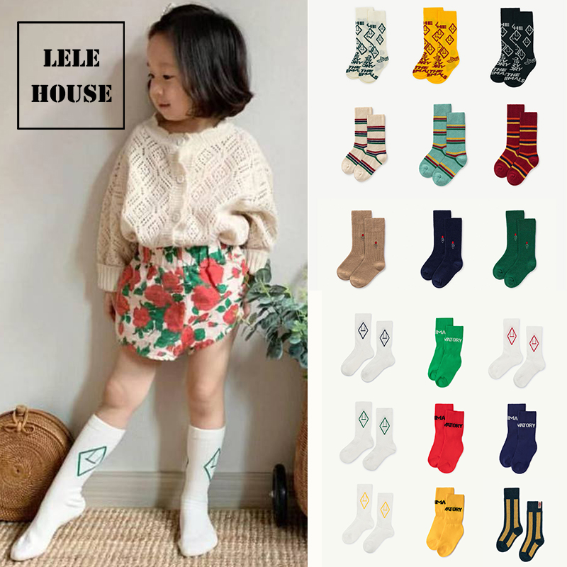 Kids Sock 2019 Tao Baby Girls Autumn Summer Brand Tube Scokings Children Girls Middle Knee Cute Pattern Socks
