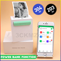 Bluetooth принтер фото Тепловой Мини беспроводной карманный принтер Поддержка Android iOS Windows устройство Peripage термопринтер Бумага