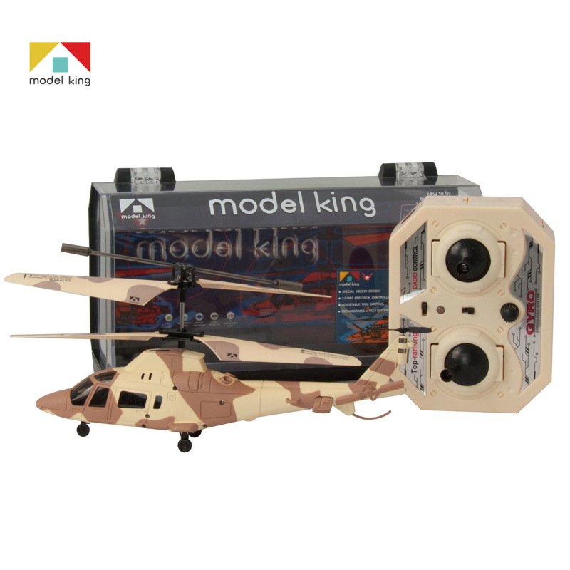 Remote Control Mini Gyroscope Helicopter Airplane 3.5 Passband Light Camouflage Electric Airplane Children Model Toy