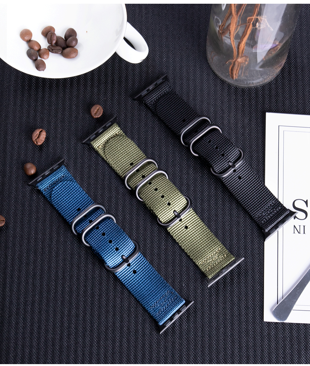Nylon Fabric Band for Apple Watch 14