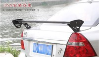 For Citroen c Elysee 2008 2014 High quality aluminum alloy Rear wing Spoiler Car styling