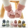 Осень-зима мягкие хлопковые носочки для девочки носки для новорожденных с рисунками зверей из мультфильмов носки для младенцев носки для м...