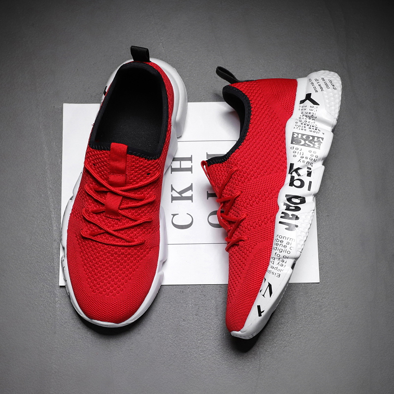 New Mens Sneakers Canvas Mesh Fashion Breathable Sports Running Casual Shoes 006