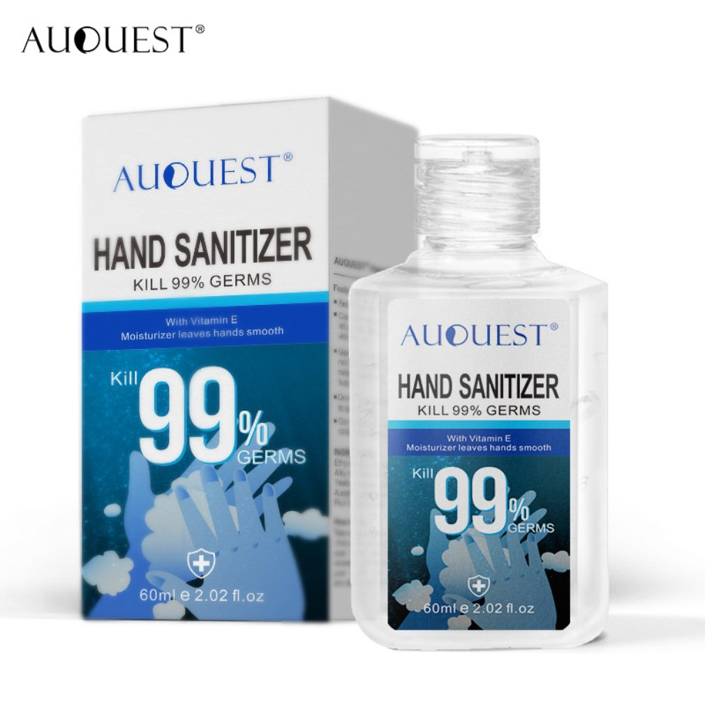 70% Alcohol  Hand Sanitizer Gel Bactericidal  Bacteriostatic Antibacterial Without Irritating Hands Clean 60 Ml