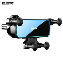 ESR uchwyt samochodowy Gravity Gravity stojak na iPhone XIAOMI Huawei uchwyt na telefon komórkowy uniwersalny w samochodzie Air Vent Clip Mount