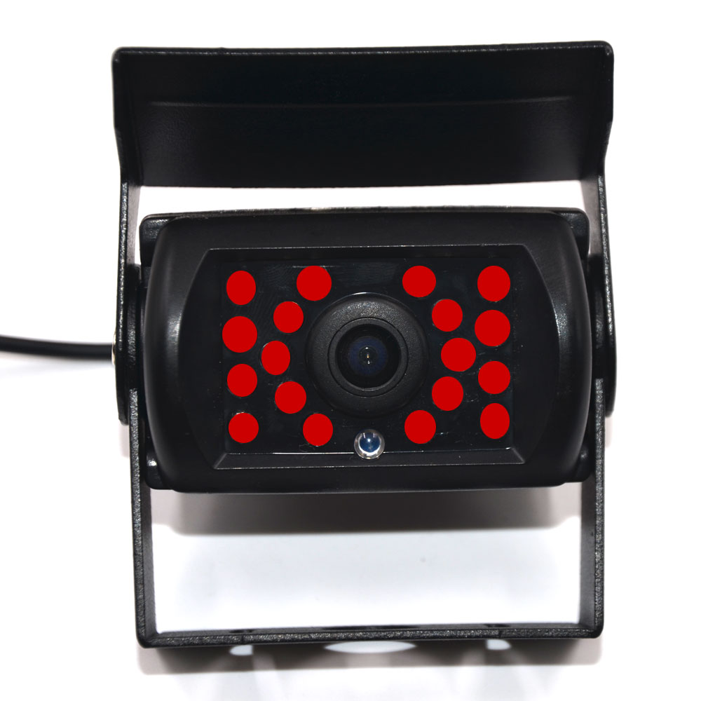 Car Rear View Camera 36v Back Reverse Parking Front Camera De Recul Or Line Truck Bus Lorry With 18 IR Night Vision Wide Degree