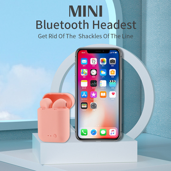 Mini-2 Wireless Headphone Bluetooth Earphones Waterproof Earpieces Sport Earbuds For Huawei Iphone OPPO Xiaomi TWS Music Headset 6