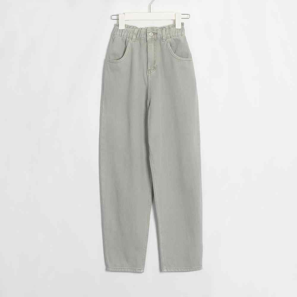 Wixra Casual Vrouwen Femme Bf Denim Broek Hoge Taille Zakken Broek Zomer Dames Streetwear Jeans