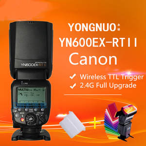 YONGNUO Flash Speedlite Master Yn600ex-Rt-Ii TTL Canon Camera Wireless for 1/8000s/Hss/Gn60-support