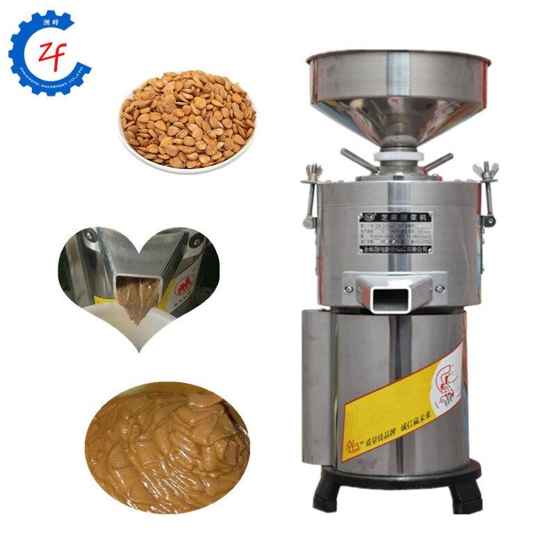 Peanut Butter Maker High Quality Groundnut Hazelnut Paste Mill Grinder Almond Cashew Nut Tahini Grinding Machine
