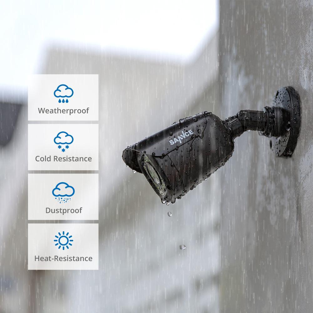 SANNCE 4CH HD 1080P CCTV-System 1080P HDMI-Ausgang CCTV DVR HD 2.0MP - Schutz und Sicherheit - Foto 6