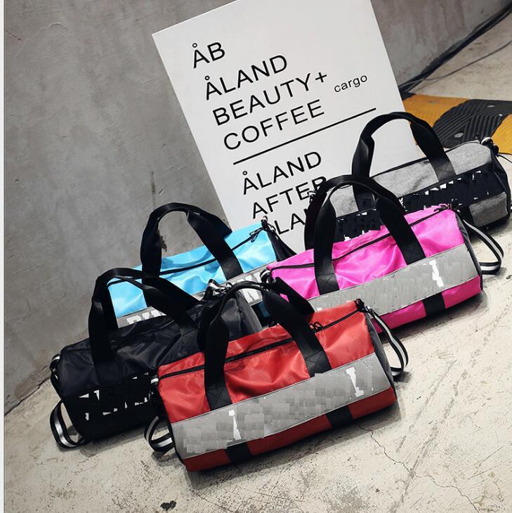 Fitness Bag Foreign Trade Travel Bag Portable Sports Bag Men's Yoga Bag Women's Short Distance Single Shoulder Luggage Bag