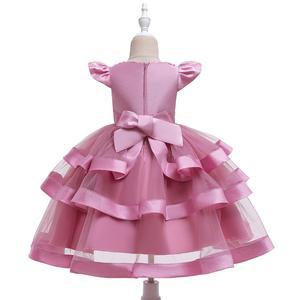 Image 5 - 夏の子供のドレス子供刺繍レースのため 2 3 4 5 6 7 8 9 10 歳の誕生日パーティードレス
