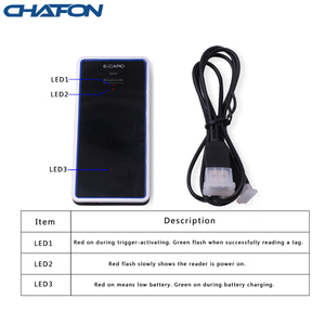 Image 5 - 1 meter UHF RFID Bluetooth Reader 50pcs Multiple tag anti collision support android and windows 8 system for access control