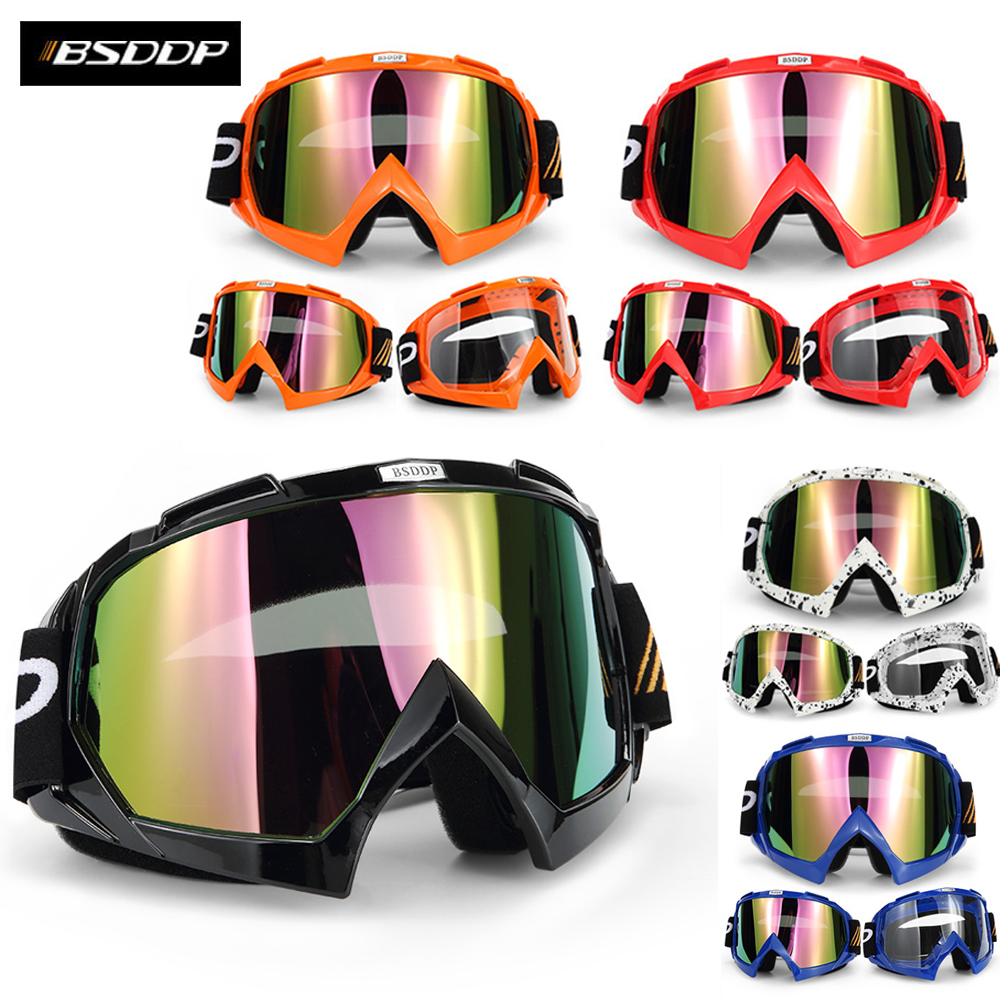 Motorcycle Protective Gears For KTM Motorcycle Helmet Motocross Goggles ATV DH MTB Dirt Bike Glasses Motocross