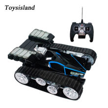RC Transformer 2 in 1 RC Car Tank Model 2.4GHz Remote Control Cars on the Machine RC Robots Gift for Boys(China)