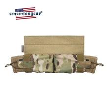 Emersongear pochette magnétique à tirer latérale pochette chargeur M4 fusil Molle tactique poche magnétique crochet et boucle chasse Airsoft militaire armée équipement
