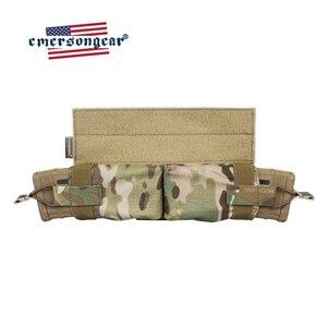 Image 1 - حقيبة إيمرسونجير ماج ذات سحب جانبي مزودة بجيب للمجلة M4 بندقية رموهة التكتيكية مزودة بخطاف وحلقة صيد معدات عسكرية للجيش