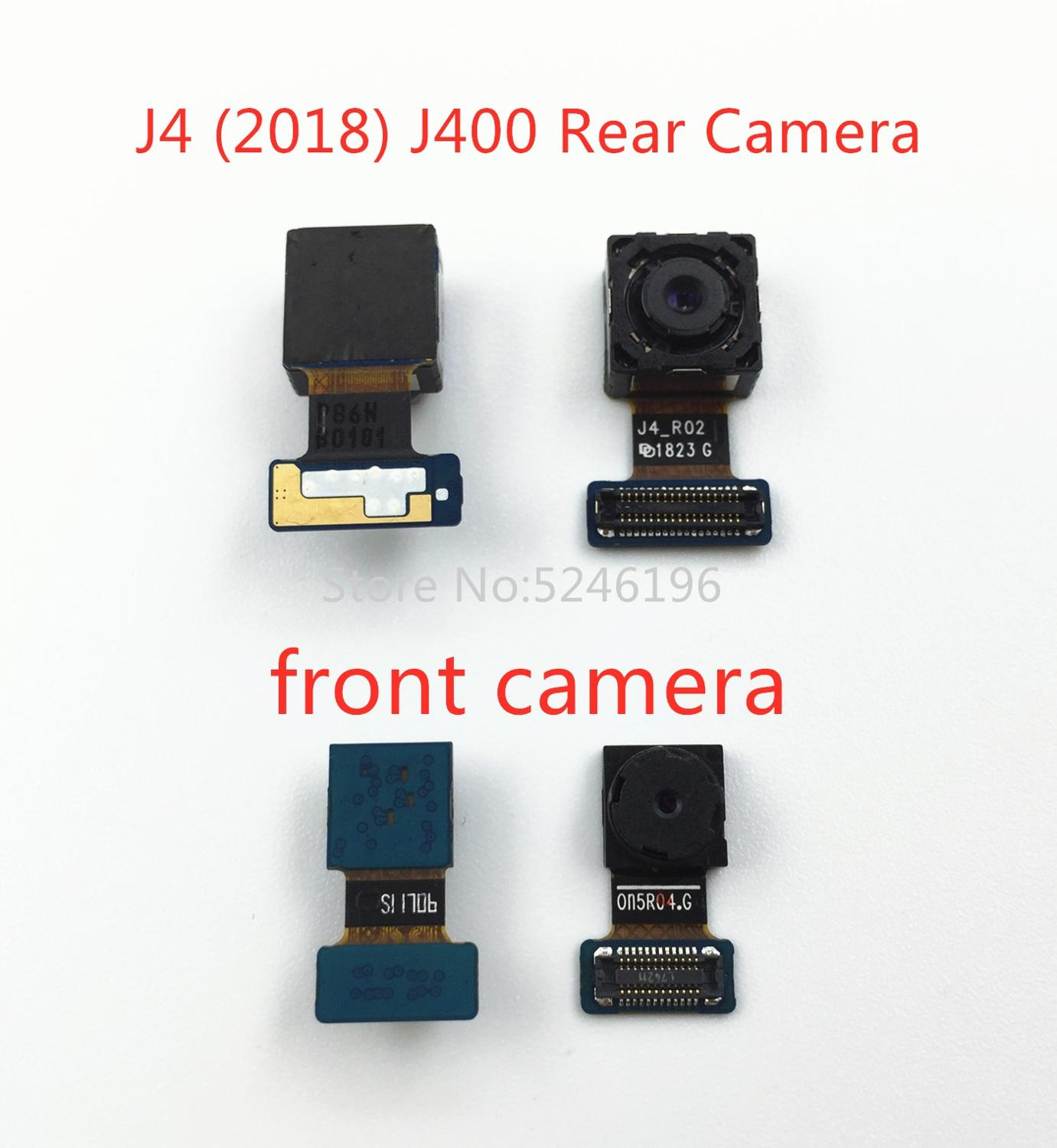 For Samsung Galaxy J4(2018)/ J400 J400M J400G J400F Back Big Main Rear Camera Front Camera Module Flex Cable Replacement Parts