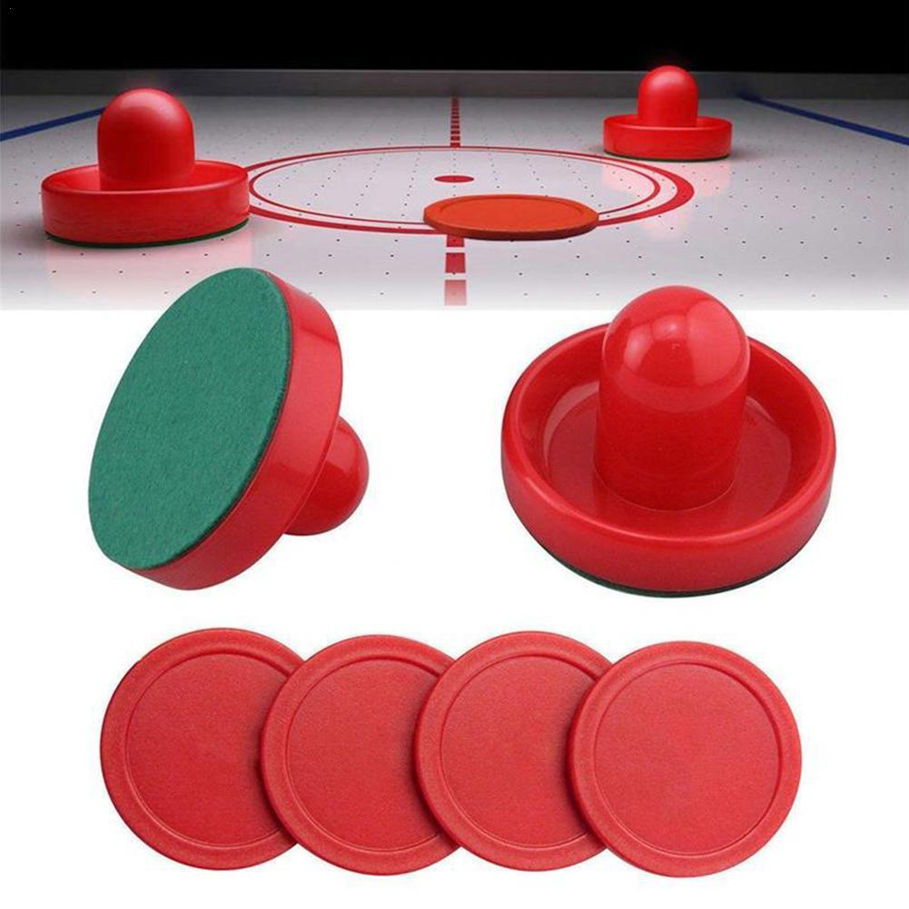 Air Hockey Accessories 76mm Batter Table Ice Hockey Pucks Hockey Adult Table Entertaining Set Accessories Putters Tabl Game T0N5