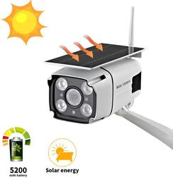 SDETER Zonne-energie Security Camera IP 1080P Draadloze WiFi Batterij CCTV Camera Outdoor Radar Bewegingsdetectie Nachtzicht P2P