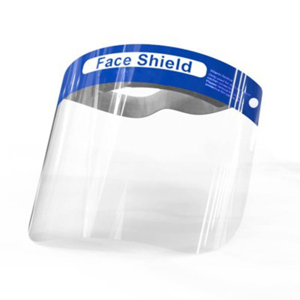 Anti Virus Full Face Shield Covering Mask Transparent Anti Droplet Saliva Dust-proof Influenza Flu Protection Anti-fog Visor