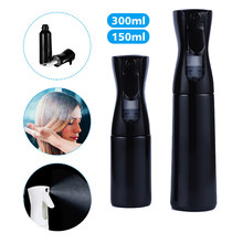 Secador de cabelo spray garrafa de spray de alta pressão garrafa spray contínuo rega pode cabeleireiro diretor automático pneumati