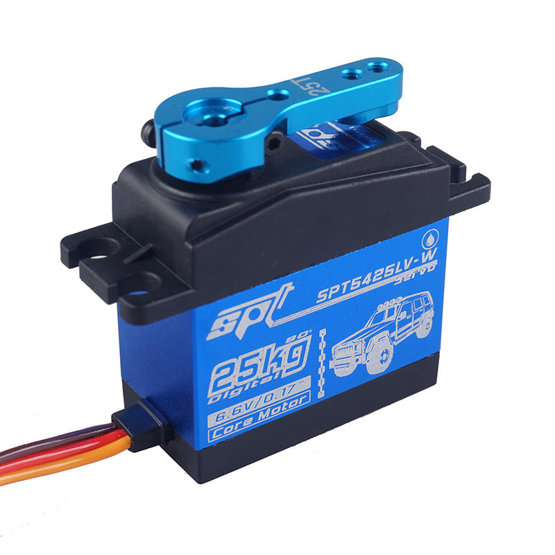 Image 4 - Waterproof Metal Gear SPT 5425lv 25kg Large Torque Digital Coreless Servo for RC Car TRAXXAS Crawler TRX4 baja boat Robot-in Parts & Accessories from Toys & Hobbies on AliExpress - 11.11_Double 11_Singles' Day