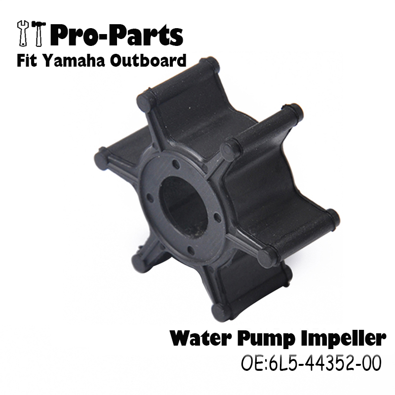 New 6L5-44352-00 Water Pump Impeller Fit Yamaha Outboard F2.5 3A MALTAImpeller Replaces