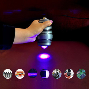 Image 4 - Vusum 100W 365nm 395nm 405nm UV מנורת מתח גבוה זרקור ריפוי מנורת UV מנורת צללים ירוק שמן מחקר LCD מסך