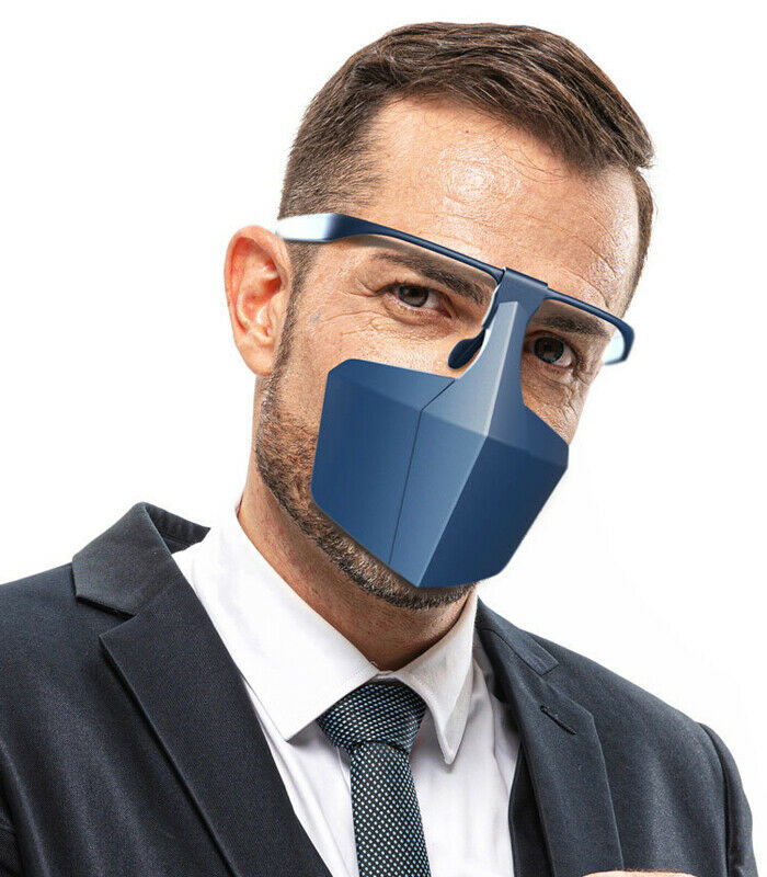 Brand New Breathable Reusable Protective Cover Isolation Face Shield Protective Mask Against Droplets Anti-fog Dust