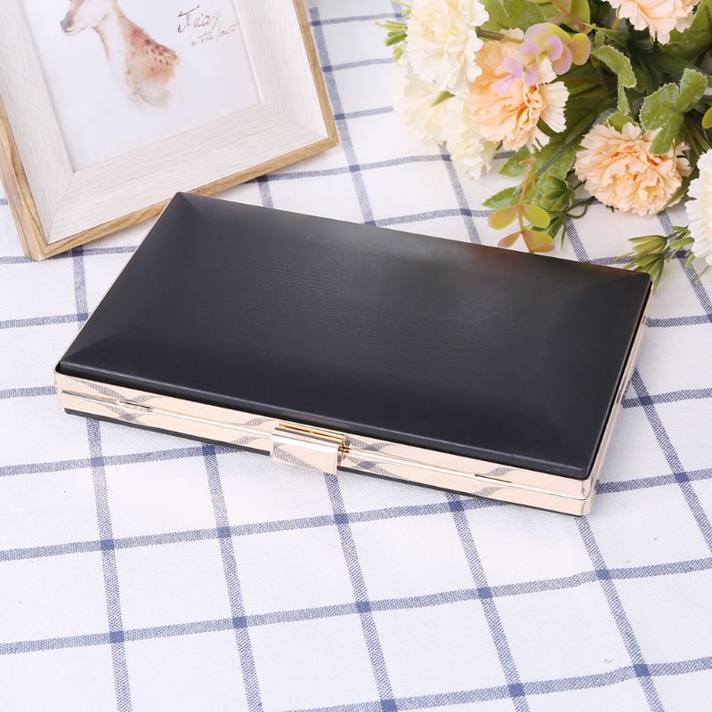 1 Pc Metal Frame Box Purses Handles For DIY Craft Bag Replacement Handbags Evening Bag Clutch Parts Accessories